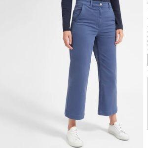 EVERLANE wide leg crop pant